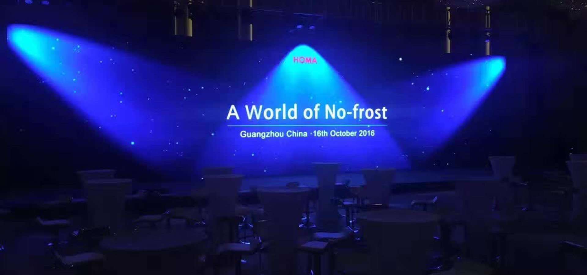 A world of No-frost, Homa launched its new no-frost refrigerator