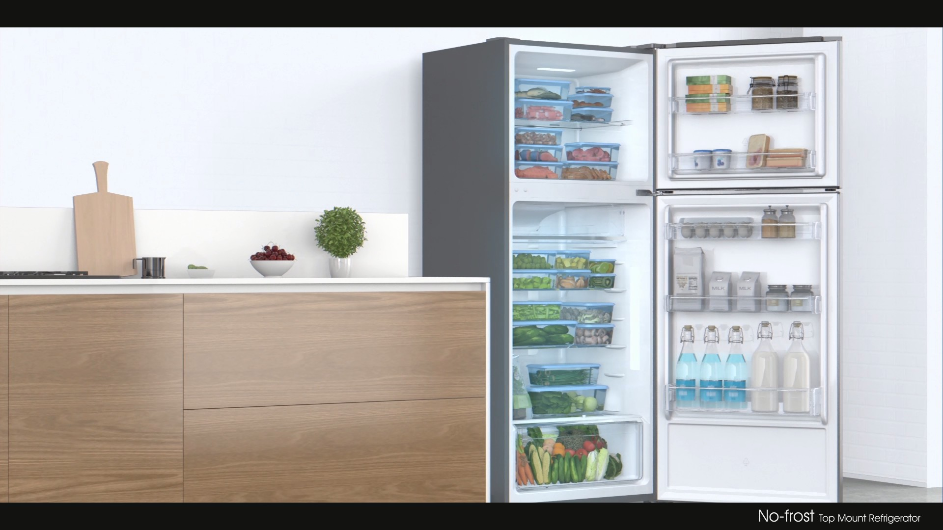 Homa Total No-Frost Top Mount Refrigerator(2016)